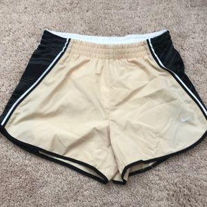 Black & Yellow Nike Athletic Shorts